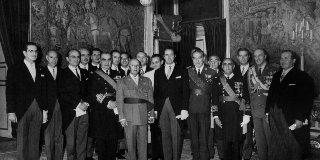 El noveno Gobierno de España durante la dictadura franquista