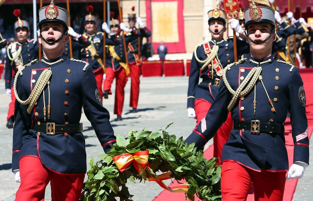 Acto de homenaje del Ejército de Tierra a los caídos